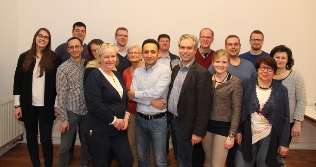 Unser Team für die Kommunalwahl 2016