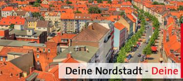 Luftbild der Nordstadt