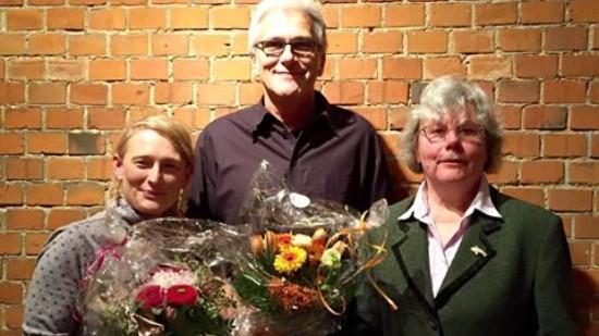 Bernd Hothan mit Julia Laube